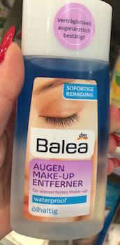 balea augen make-up