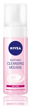 nivea soothing cleansing mousse
