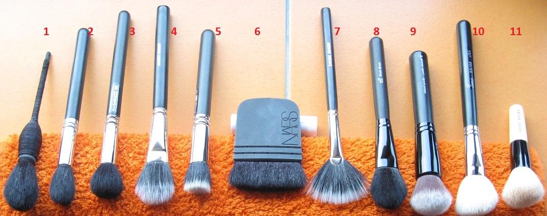 Pensule blush, bronzer, highlighter si contour