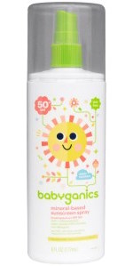 BabyGanics Mineral Sunscreen Spray SPF 50